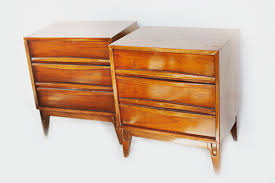 retrospectives mid century modern vintage nightstands photo by