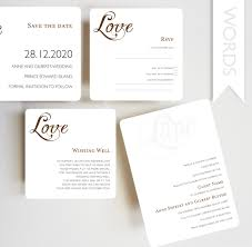 wedding invitation rsvp date words invitation wishing well rsvp card save the date card