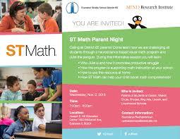 st math parent night u2013 weds nov 2 evanston families
