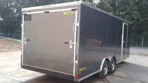 enclosed trailer exterior lights enclosed car haulers for sale by kaufman trailers