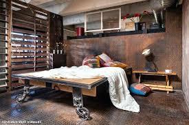 chambre style loft industriel peinture style industriel daccoration chambre style industriel 28