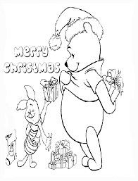 walt disney christmas coloring pages free coloring pages etyho walt disney coloring pages winnie the