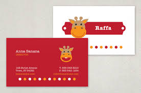 childcare business cards childcare business card template inkd