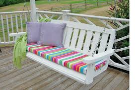 porch swing with cushions best 25 ideas on pinterest for 10 coral