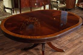 oval dining table 8 seater room with butterfly leaf and chairs