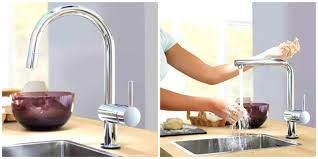 how to install a grohe kitchen faucet bathroom gorgeous peel tile grohe kitchen faucets concetto