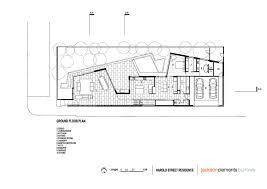 The Burrow Floor Plan Gallery Of Harold Street Residence Jackson Clements Burrows