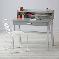 writing table with hutch kids division desk hutch crate and barrel