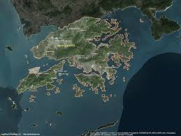 South America Satellite Map by Hong Kong U0026 Macau Satellite Maps Leaddog Consulting