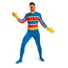 Halloween Costumes Sesame Street Sesame Street Ernie Bodysuit Costume 53 99 Costume Land