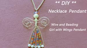 diy necklace pendant images Easy diy necklace pendant diy jewelry accessories tutorial wire jpg