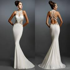 formal gown mermaid evening dresses sleeveless appliques evening gowns