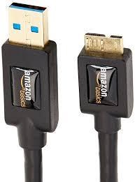 amazonbasics usb cable 3 0 a male to micro b 1 8 m 6 feet