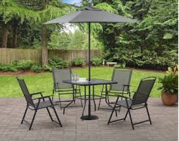 6 Piece Patio Set by Mainstays Albany Lane 6 Piece Patio Dining Set Only 88 68