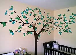 Wall Nursery Decals Popdecors Big Tree Wall Decal 133inch W Beautiful Tree