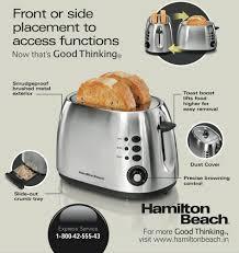 Hamilton Beach Two Slice Toaster 2 Slice Toaster 22504 Available From Hamilton Beach