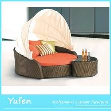 round rattan outdoor bed outdoor daybed round rattan outdoor bed