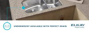 Elkay Crosstown Sink by Perfect Drain Elkay