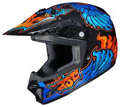 scorpion motocross helmets hjc youth cl xy 2 eye fly helmet revzilla