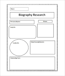 biography exle yourself 10 biography templates word excel pdf formats