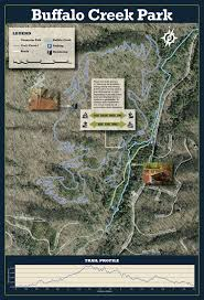 Map Buffalo Buffalo Creek Park Trail Map Phase 1 Loop Trail Town Of Lake Lure