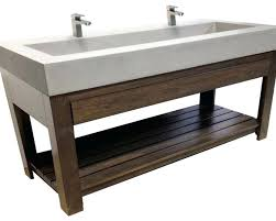 native trails trough sink kitchen sink trough sink bathroom vanity awesome debonair native