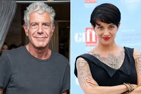 anthony bourdain is dating a italian star page six