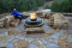 Stone Patio Images by Natural Stone Walkways Stone Patios Colorado Denver