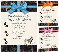 camo baby shower invitations deer and camo baby shower invitations