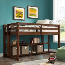 better homes and gardens loft storage bed with spacious storage