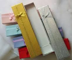 bracelet jewelry gift box images Jewelry gift box 4 21 cm cajas para joyas cardboard necklace jpg