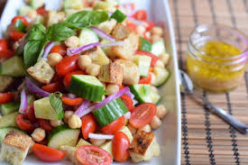 Ina Garten Panzanella Salad Chickpea Panzanella Salad A Perfect Summer Side Sweet Poppy Seed