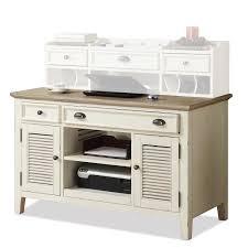 Sauder Heritage Hill Bookcase by Riverside 32523 Coventry Two Tone Credenza Desk Homeclick Com