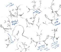 kissing pose practice by moni158 on deviantart