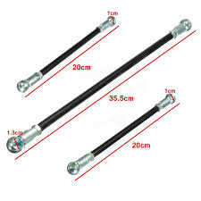 3pcs gear linkage push rod kit gear links gearbox for citroen saxo