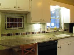kitchen backsplash green home design ideas