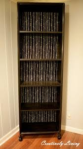 Beautiful Bookcases by Crappy Bookcase Beautification Creatively Living Blog