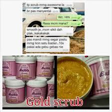 Scrub Bvr bvr licious gold scrub