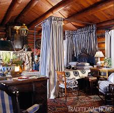 Painting Interior Log Cabin Walls by Hydrangea Hill Cottage Charles Faudree