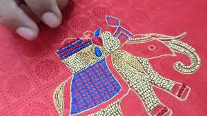 elephant blouse elephant design embroidery for blouse