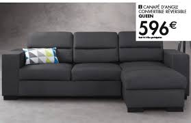 canapé lit promo canapé convertible promotion idées de décoration intérieure