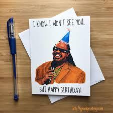 Meme Happy Birthday Card - funny stevie birthday card funny birthday card inappropriate