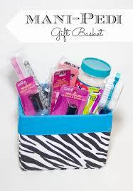 last minute gift baskets same diy manicure pedicure spa basket pedi pedi and gift
