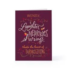 personalized thanksgiving photo card from hallmark home is