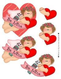 3d sheet decoupage valentine printables