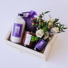 gift basket lavender gift box local delivery in santa barbara santa