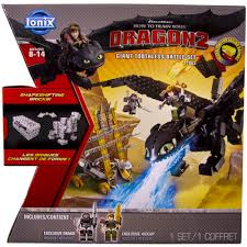 ionix how to train your dragon 2 giant toothless battle set