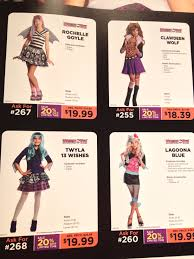 All Monster High Halloween Costumes Halloween Costumes Reveal The Truth About Girls U0027 Toys Dr