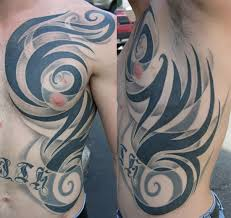 awesome hd rib cage tribal tattoos pictures tattoos ideas