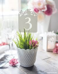 wedding table numbers diy wedding table numbers by lia griffith project home decor